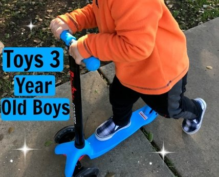 Best Gifts And Toys For 3 Year Old Boys